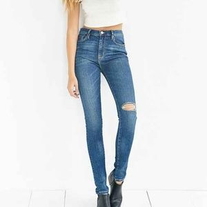 BDG Twig High Rise Distressed Jeans Size 29W